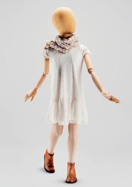 maniquies niños tipo sastre brazos de madera