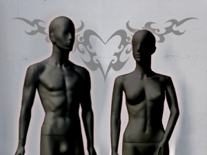 MANNEQUINS - STILUS LITE BLACK